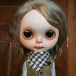 OOAK Rerooted Custom Blythe Art Doll by Natt 47 Antoine