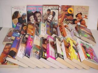28 PB Book Lot Arabesque African American Romance Various Authors Free