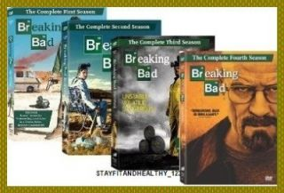Breaking Bad The Complete Seasons 1 2 3 4, 1 4 (US SHIPPING)