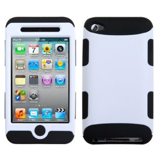 Apple Ipod Touch 4 Rubber IMPACT TUFF HYBRID Case Skin Phone Cover