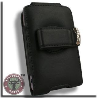 Leather Case for Apple iPhone 4 G s 4G 4S Pouch B Belt Clip Holster