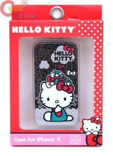 Hello Kitty Apple iPhone 4G Case Loungefly Raining Bows