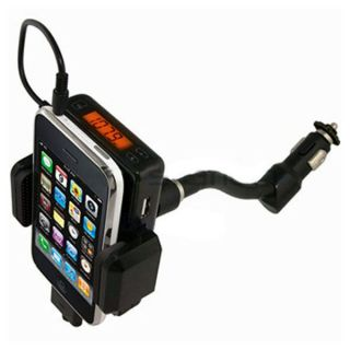 New FM Transmitter Car Charger for Apple iPod Touch iPhone 2G 3G 3GS