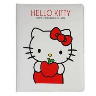 Hello Kitty Leather Smart Cover Stand for Apple iPad 2 3 Case