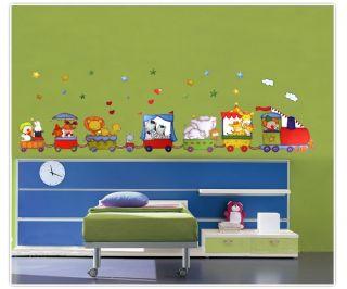 Wall Stickers Nursery Childs Room Bedroom Magic Elephant New