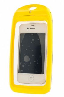 Aqua Box Waterproof Smartphone Device Case Yellow
