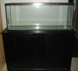55 gallon aquarium fish tank, light & stand pickup Addison or del