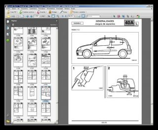 RENAULT CLIO II & SYMBOL   MANUAL DE TALLER   WORKSHOP MANUAL  MANUEL