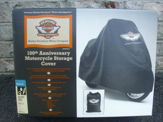 100th Anniversary Harley Davidson Motorcycle Storage Cover Medium