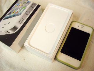 Apple iPhone 4S 16GB White Verizon Smartphone case cell phone ipod