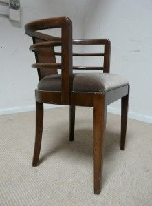 Fabulous Art Deco Chairs Machine Age Chic Desky Arbus