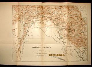 1912 1st Soane Mesopotamia Kurdistan Kurds Turkey Assyrians Iraq Mosul