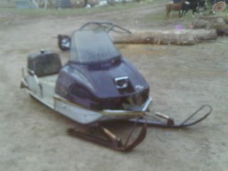Vintage 1974 Arctic Cat VIP Snowmobile for Restore or Parts