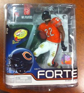 Matt Forte SEALED NFL 2012 Series 30 McFarlane Silver Variant Figure