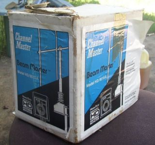 NEW IN BOX CHANNEL MASTER HD 9515A HAM TELEVISION ANTENNA ROTOR SYSTEM