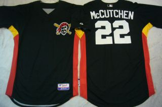 Majestic Pirates Andrew McCutchen Team issued Authentic Cool Base