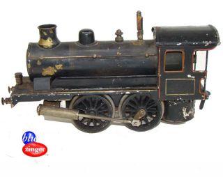 RARE Antique Marklin Germany Model RR Train Steam Engine Locomotive