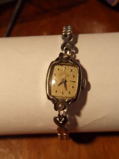 Antique Lady Hamilton 10K Gold Ladies 23 Jewel Watch