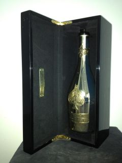Ace Of Spade (Armand de Brignac) Champagne Bottle Empty + Box