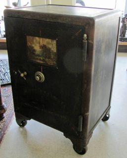 Antique Mosler Safe Lock and Company Large