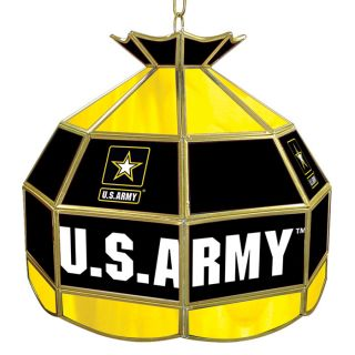 Officially Licensed   U.S. Army Stained Glass Tiffany Style Light   16