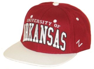 Arkansas Razorbacks Hogs Maroon Super Star Snapback Adjustable Hat Cap