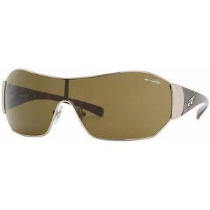 Arnette Chaser Unisex Sunglasses Gold Metal Frame New