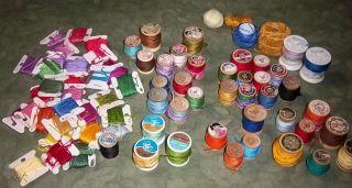 Hand Embroidery Floss/Thread DMC France,J&P COATS Pure Silk,LILY