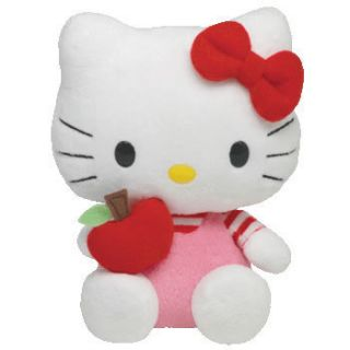 Hello Kitty Red Apple Ty Beanie Baby New