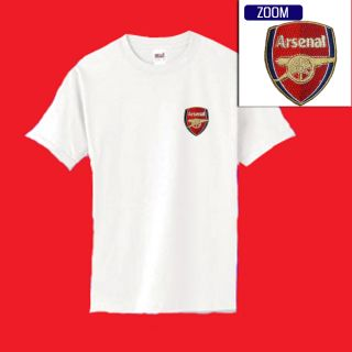 Arsenal Football Soccer Patch Shirt $14 99 M XL Wht