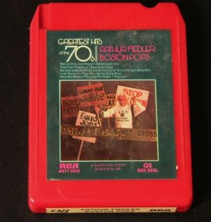 Quad 8 Track Arthur Fiedler Boston Pops Greatest Hits of The 70s