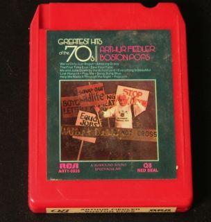 Quad 8 Track Arthur Fiedler Boston Pops Greatest Hits of The 70s