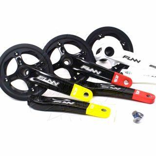Funn Bob Arrow Mountain Bike Single Speed Crankset 170mm Black Yellow