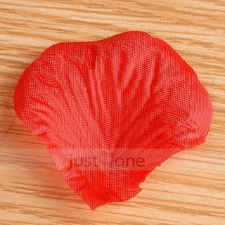1000pcs Fake Fabric Flower Rose Petals Wedding Party Decoration Supply