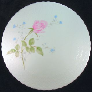 Mikasa Fine Bone China April Rose Cake Plate B2053