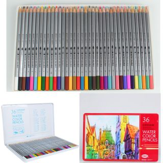 Artist Water Soluble Drawing Pencil for Studio or Travel Use Artist