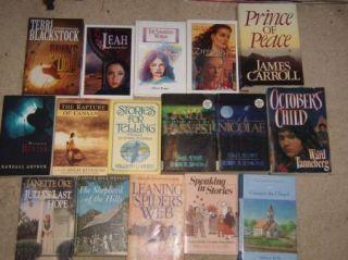 Lot of 16 Religion Inspirational Christian Religious Fiction Books