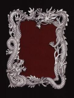 Arthur Court Designs Dragon 4 x 6 Picture Frame