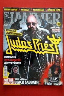 Judas Priest Unique Metal Hammer Magazine Dimebag Pantera Iron Maiden