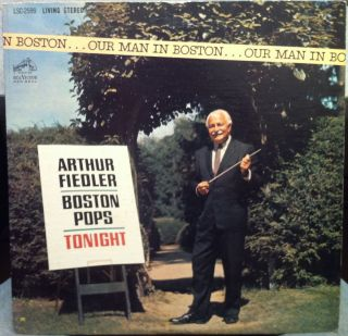 Arthur Fiedler Our Man in Boston LP SD LSC 2599 VG