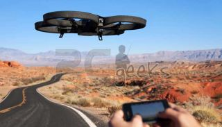 Parrot AR Drone 2 0 WiFi Quadricopter HD 720P for iPhone iPad iPod and