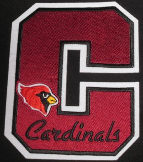 arizona cardinals 5 letter patch nfl football crest