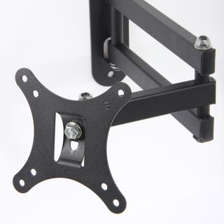 Articulating Arm Tilt LCD LED Monitor TV Wall Mount 14 15 18 19 22 23