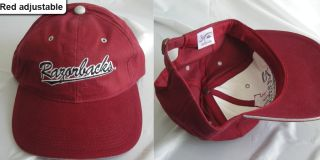 New Arkansas Razorbacks Hogs Vintage Snapback Adjustable Cap Hat 1990s
