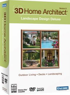 Home architect homelandscape deluxe suite for 3d home architect landscape design deluxe v6 0