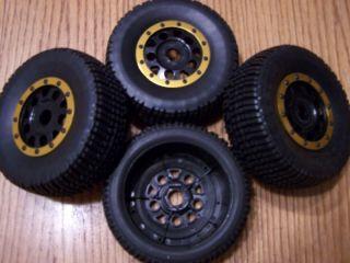 Team Associated 17mm Wheels Tires SC8E SC8 E Buggy
