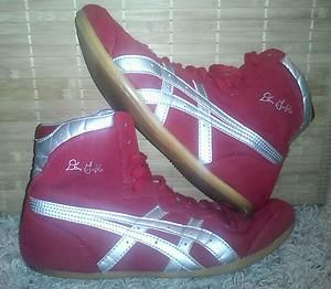 RARE ASICS DAN GABLE CLASSIC WRESTLING SHOES 8 5 kolat combat speed