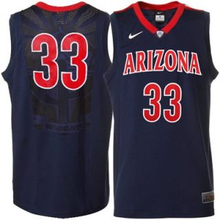Nike Arizona Wildcats Replica Basketball Jersey Small Mens Navy