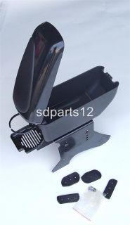 Black Armrest Arm Rest Centre Console for Opel Tigra Corsa B C D Astra
