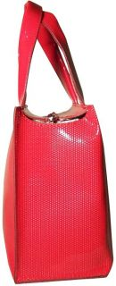 Astrid Italian Womens Design Bag Handbag Purse Red 593